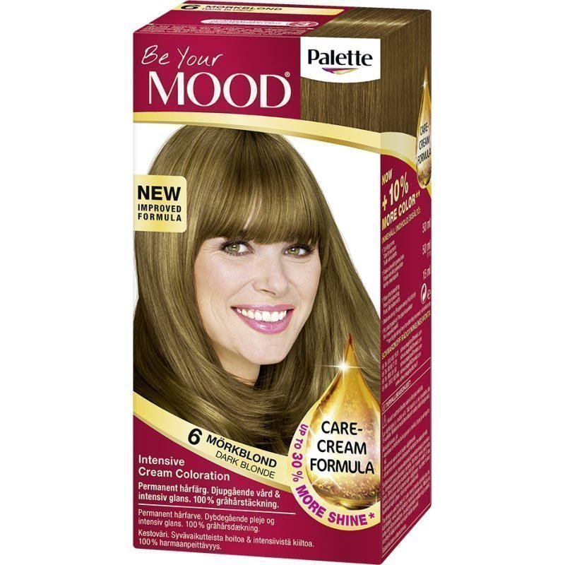 MOOD Hair Colour No. 6 Dark Blonde