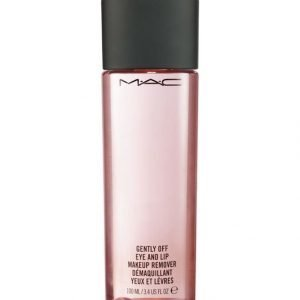 Mac Gently Off Eye And Lip Makeup Remover Silmä Ja Huulimeikinpoistoaine 100 ml