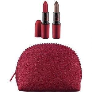 Mac Keepsakes Viva Glamorous Lip Bag Meikkipussi Ja Kaksi Huulituotetta