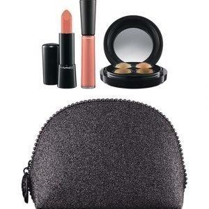 Mac Keepsakes/Gold Lip + Eye Bag 51 G Meikkipussi Tuotteineen