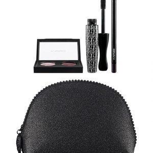 Mac Keepsakes/Plum Eye Bag 45 G Meikkipussi Ja 3 Silmämeikkituotetta