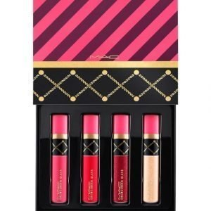 Mac Nutcracker Sweet Red Lip Gloss Huulikiiltosetti