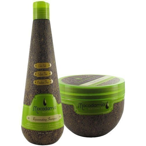 Macadamia Macadamia Duo Deep Repair Masque 250ml Rejuvenating Shampoo 300ml