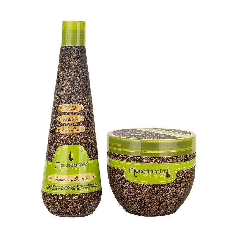 Macadamia Macadamia Duo Rejuvenating Shampoo 300ml Masque 500ml