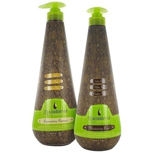 Macadamia Macadamia Duo Rejuvinating Shampoo 1000ml Moisturizing Rinse 1000ml