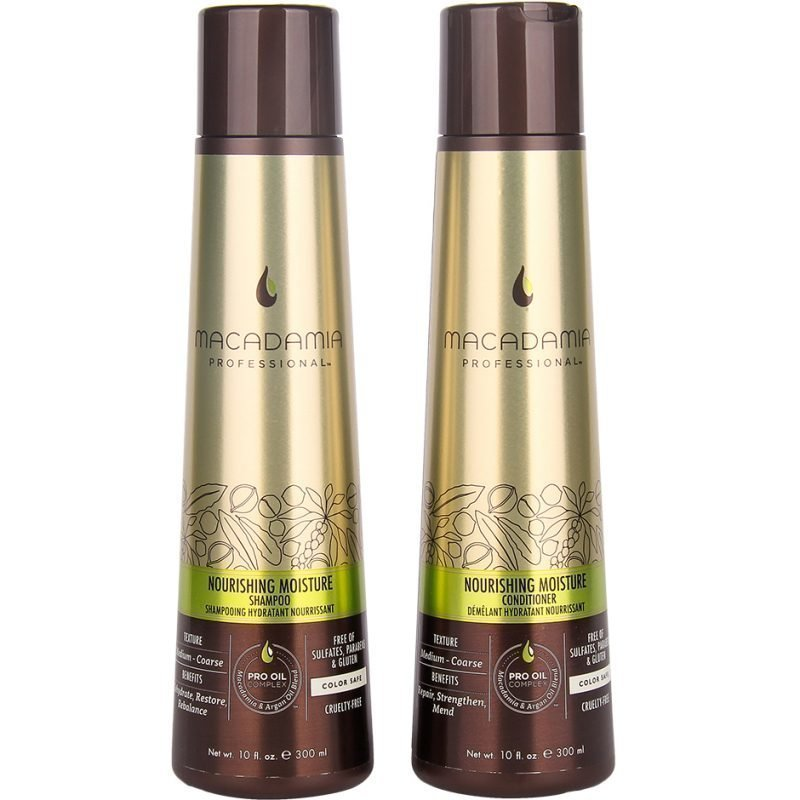 Macadamia Nourishing Moisture Duo Shampoo 300ml Conditioner 300ml