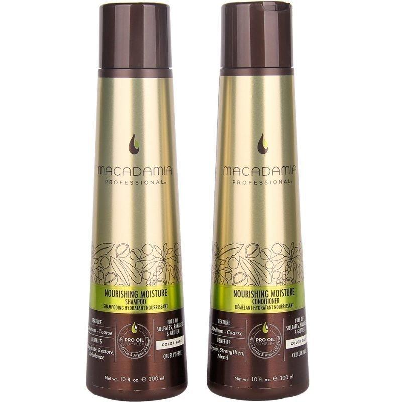 Macadamia Nourishing Moisture Duo Shampoo 300ml Conditioner 300ml