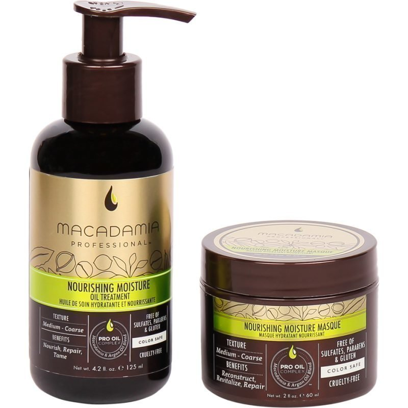 Macadamia Nourishing Oil & Mini Masque 125ml 60ml