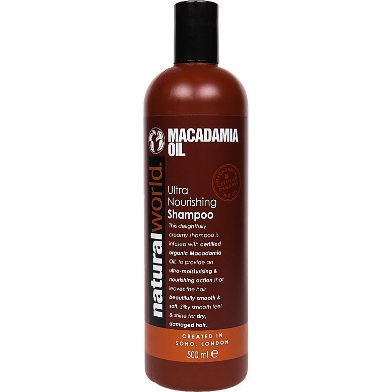 Macadamia Oil Ultra Nourishing Hair Shampoo 500ml