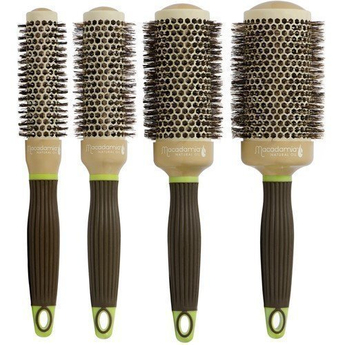 Macadamia Professional Boar Hot Curling Brush Medium 33 mm