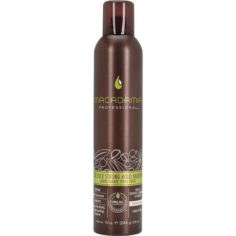Macadamia Style Lock Firm Hold Spray 284g