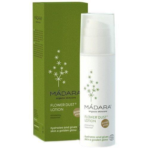 Madara Organic Skincare Flower Dust Lotion Shimmering Moisturiser