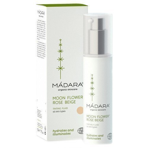 Madara Organic Skincare Moonflower Rose Beige Tinting Fluid