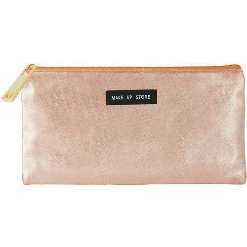 Make Up Store Bag Flat Orange