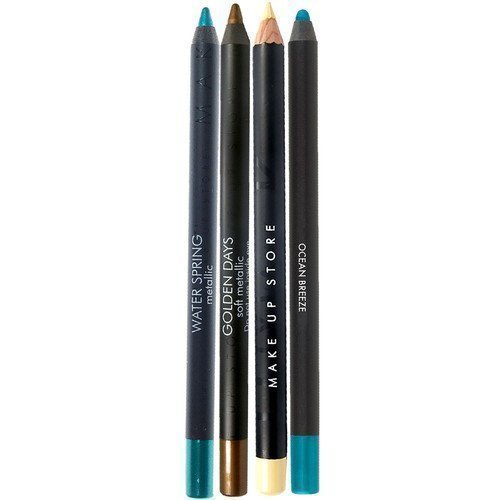 Make Up Store Eyepencil Duo Blue Pigment