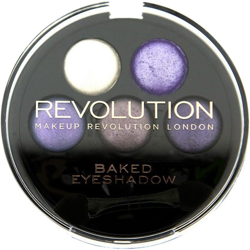 Makeup Revolution 5 Baked Eyeshadows Electric Dreams