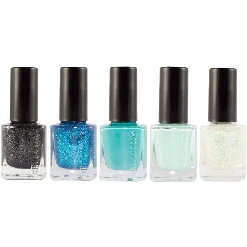 Makeup Revolution Amazing Nail Collection Mermaid 5 x 12ml * Individual shades may vary.