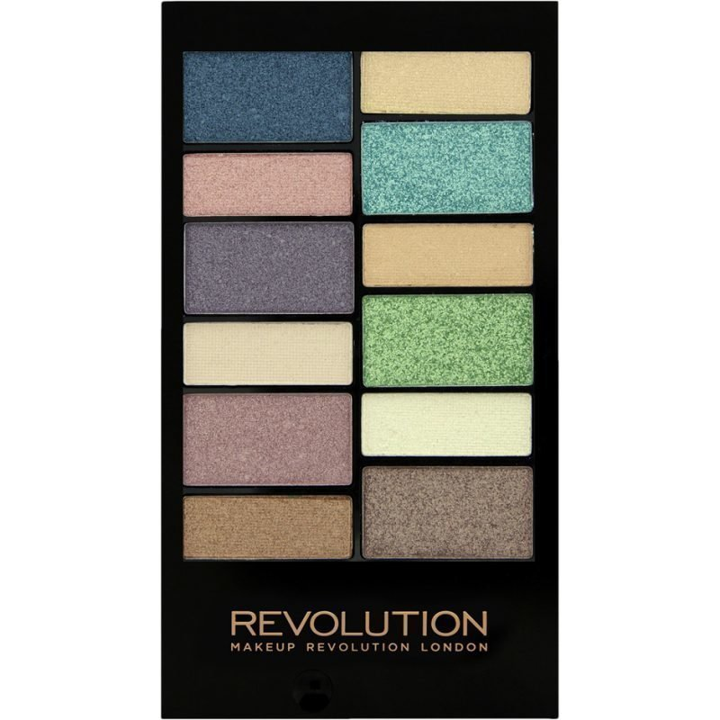 Makeup Revolution Awesome Eyeshadow Palette Beach & Surf 12 Eyeshadows
