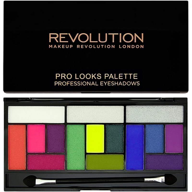 Makeup Revolution Eat Sleep Makeup Repeat Pro Looks 3 Looks In 1 Palette