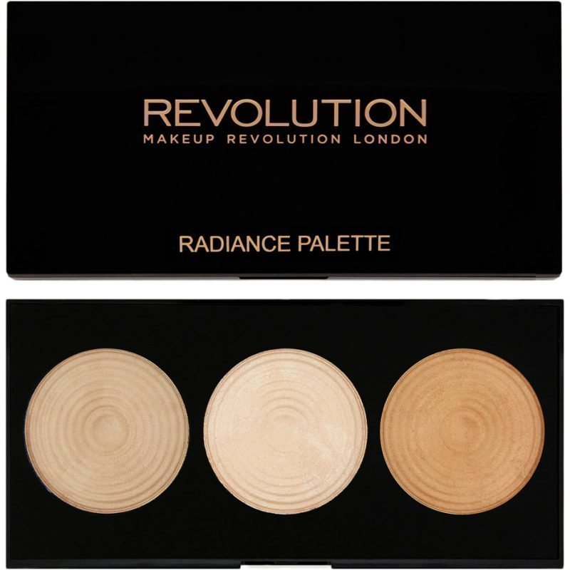 Makeup Revolution Highlighter Palette Radiance 3 Radiant Lights Highlighters
