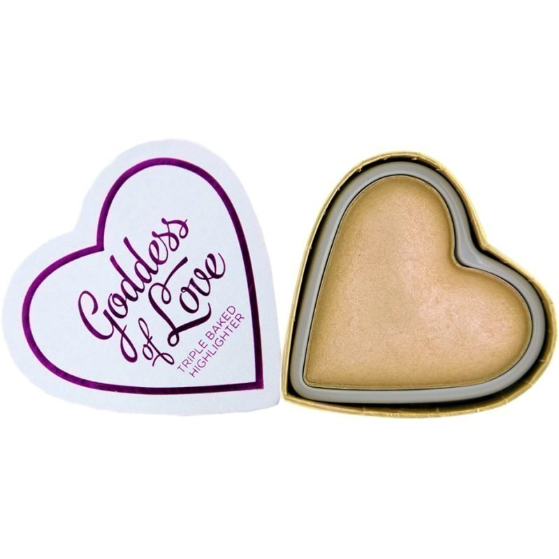 Makeup Revolution I Heart Makeup Blushing Hearts Golden Goddess