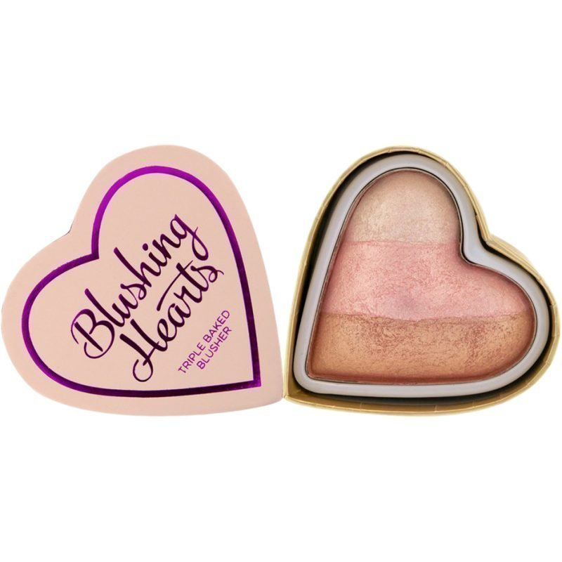 Makeup Revolution I Heart Makeup Blushing Hearts Iced Hearts
