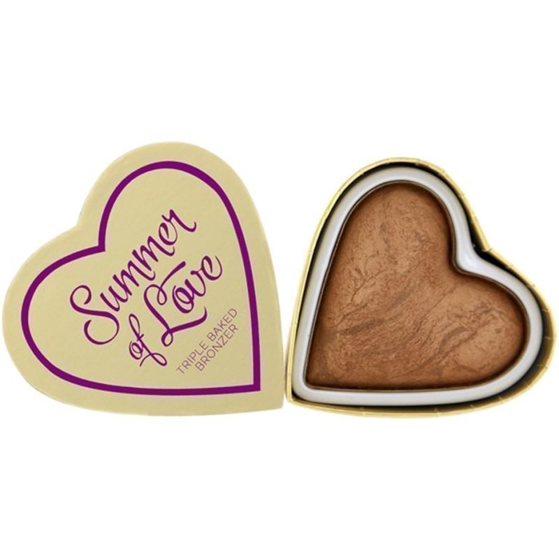 Makeup Revolution I Heart Makeup Blushing Hearts Love Hot Summer Bronzer