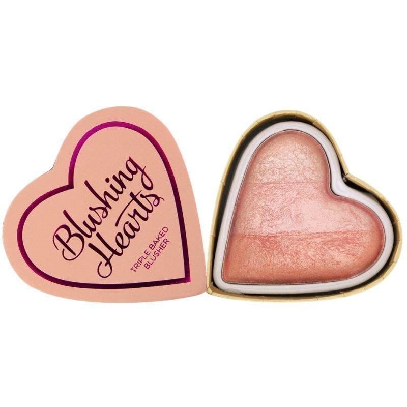 Makeup Revolution I Heart Makeup Blushing Hearts Peachy Pink Kisses
