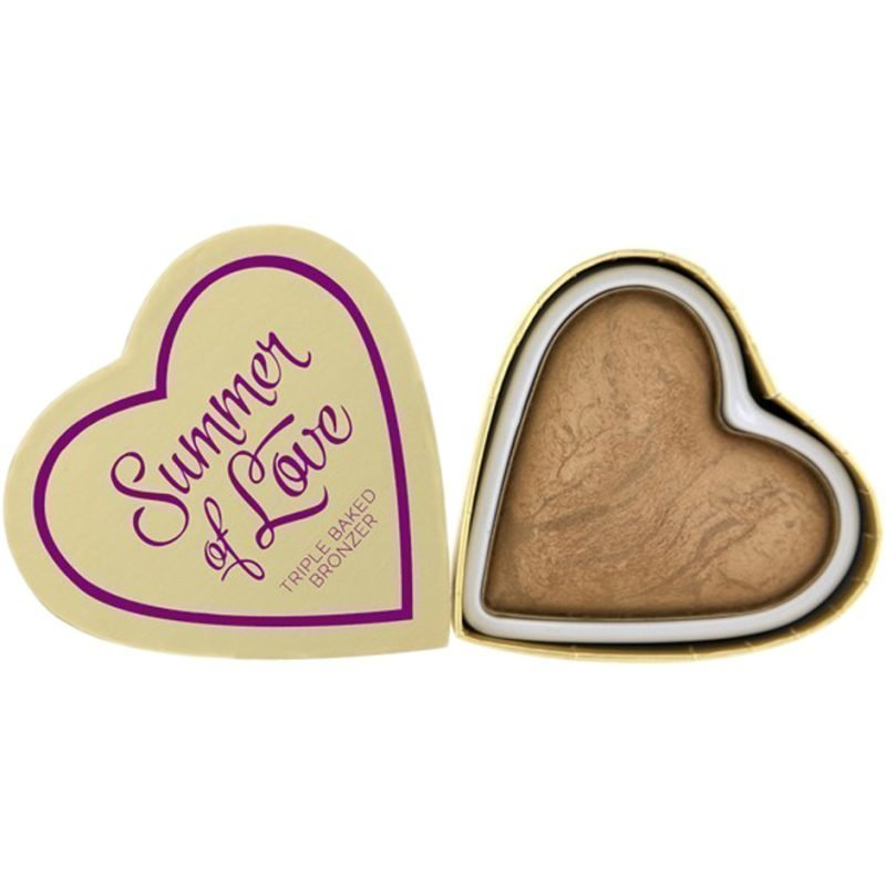 Makeup Revolution I Heart Makeup Blushing Hearts Summer Of Love Bronzer