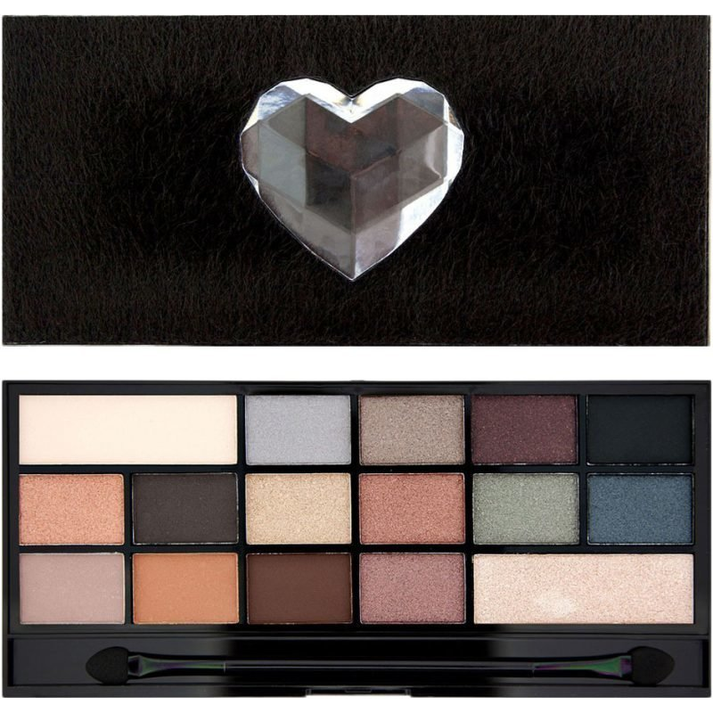Makeup Revolution I Heart Makeup Faux Fur Covered Palette 16 Eyeshadows