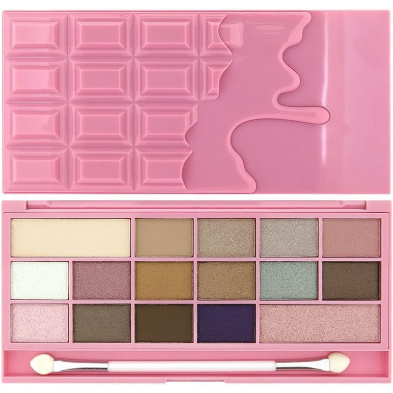Makeup Revolution I Heart Makeup I Heart Chocolate Pink Fizz 16 Eyeshadows