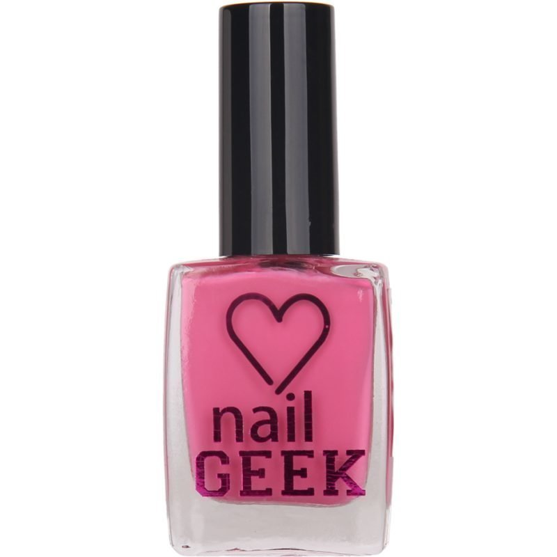 Makeup Revolution I Heart Makeup Nail Geek Cheeky Pink 12ml