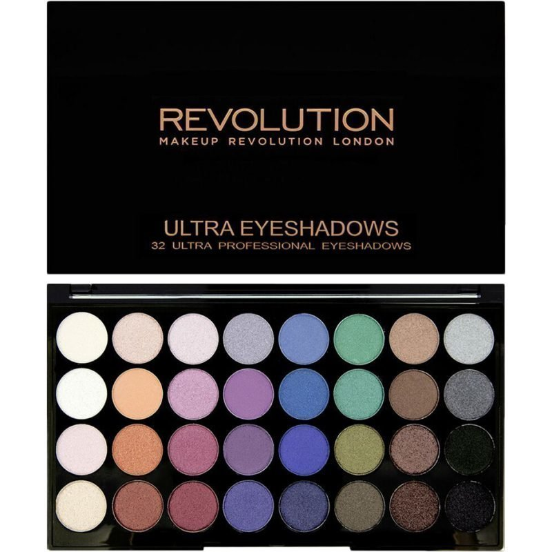 Makeup Revolution Mermaids Forever Ultra Eyeshadows 32 Ultra Professional Eyeshadows