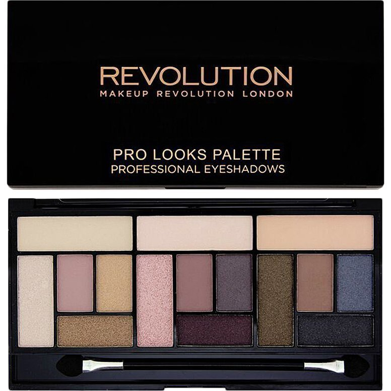 Makeup Revolution Pro Looks Palette Stripped & Bare 15 Professional Eyeshadows