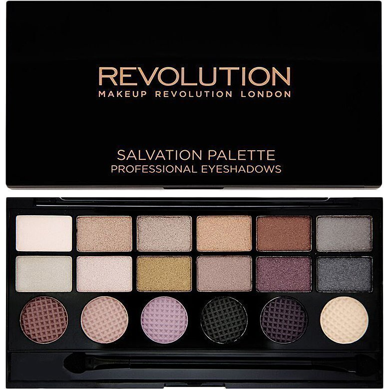 Makeup Revolution Salvation Palette Girls On Film 18 Exlusive Eyeshadows Palette