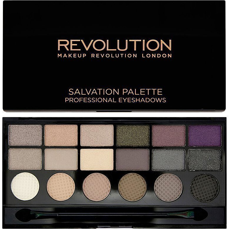 Makeup Revolution Salvation Palette Hard Day 18 Exlusive Eyeshadows Palette