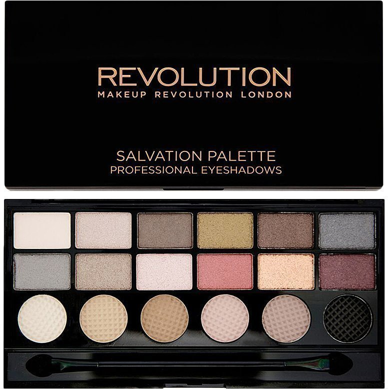 Makeup Revolution Salvation Palette Run Boy Run  18 Exlusive Eyeshadows Palette