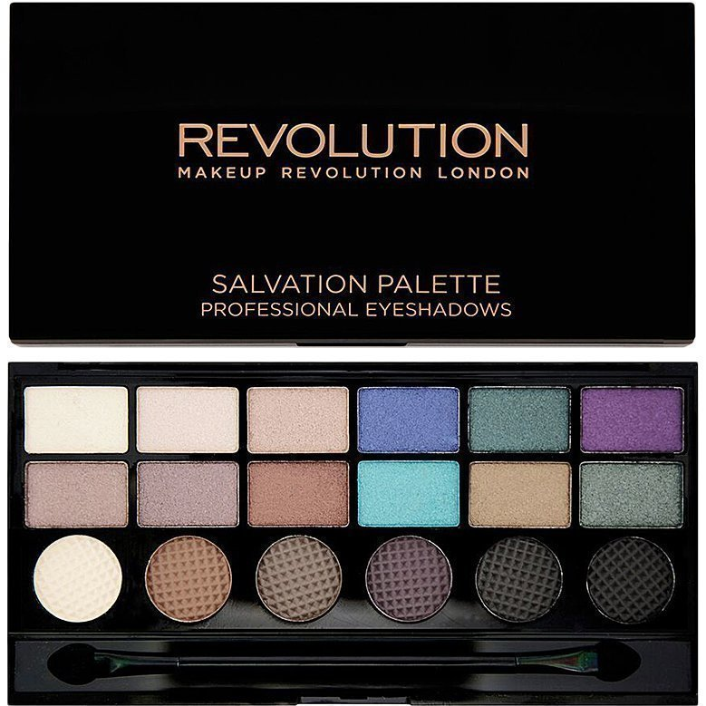 Makeup Revolution Salvation Palette Welcome To Pleasuredome 18 Exlusive Eyeshadows Palette