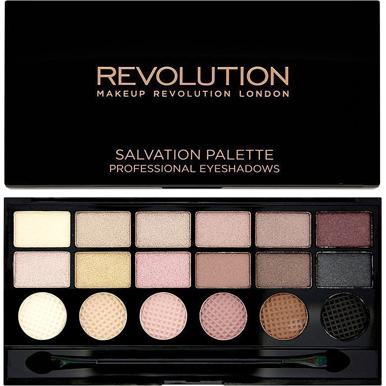 Makeup Revolution Salvation Palette What You Waiting For? 18 Exlusive Eyeshadows Palette