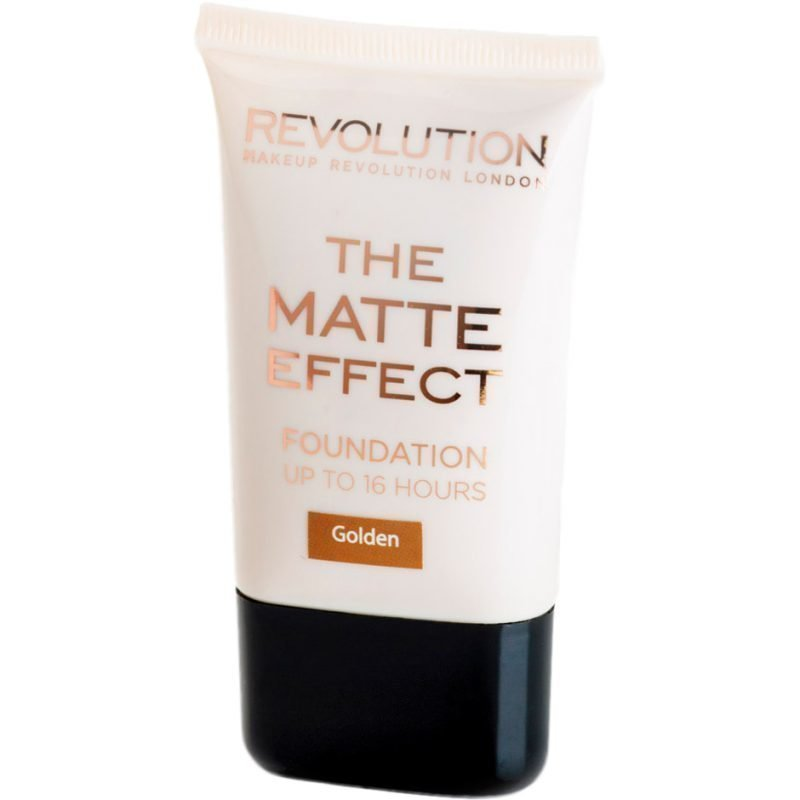 Makeup Revolution The Matte Effect Foundation Up To 16 Hours Golden