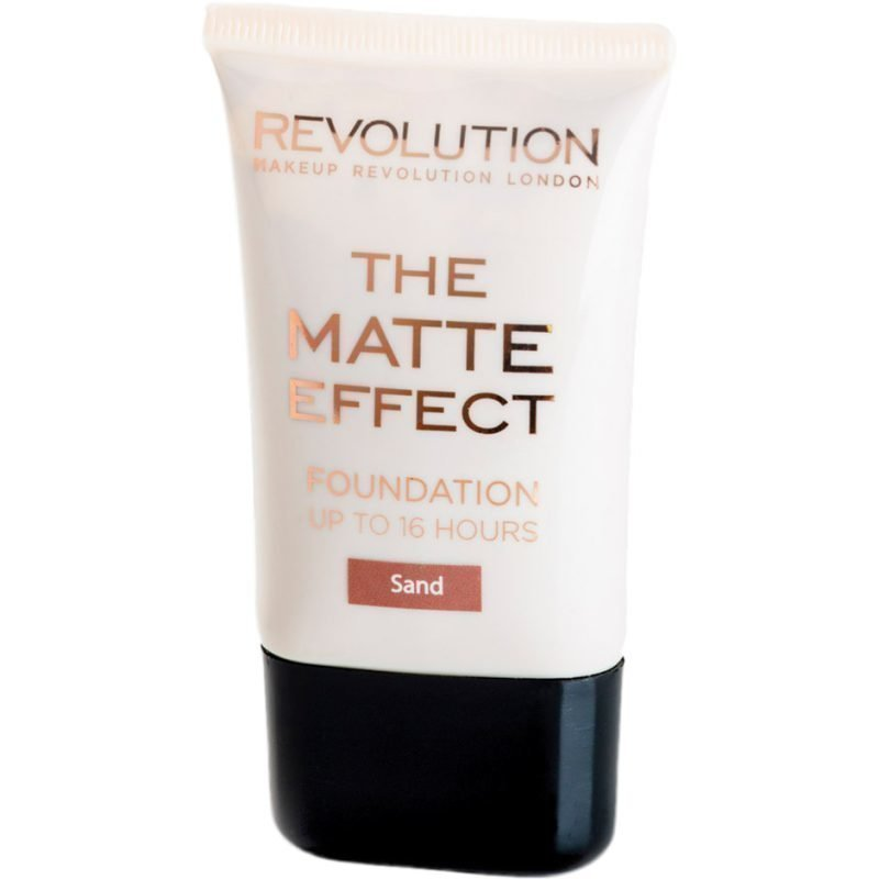 Makeup Revolution The Matte Effect Foundation Up To 16 Hours Sand