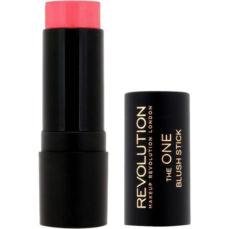 Makeup Revolution The One Blush Stick Matte Pink