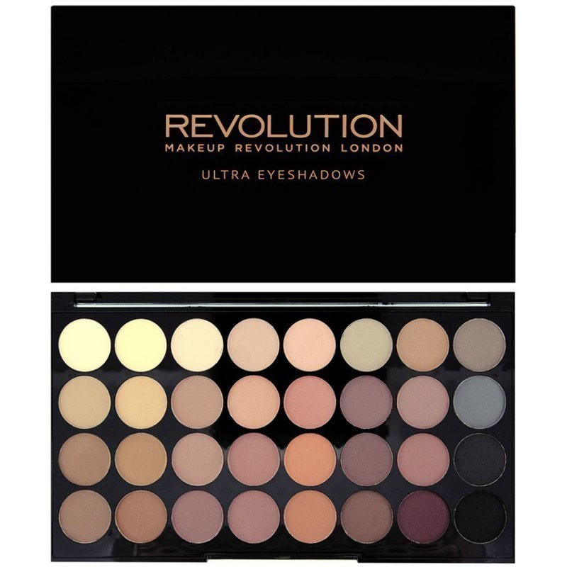 Makeup Revolution Ultra 32 Shade Eyeshadow Palette Flawless Matte 32 Ultra Professional Eyeshadows