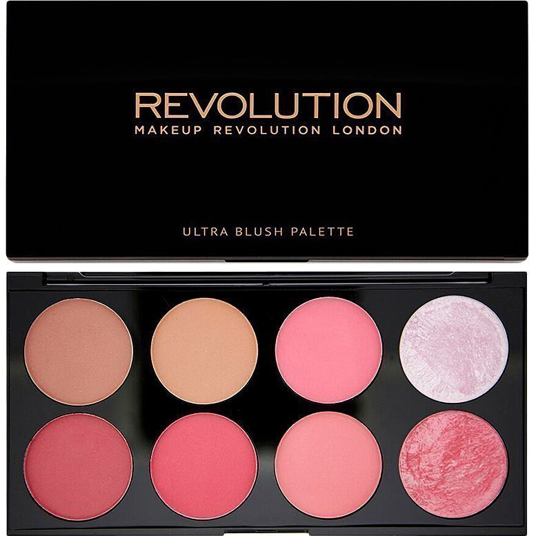 Makeup Revolution Ultra Blush And Contour Palette Sugar And Spice 8 Shades