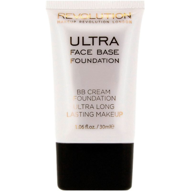Makeup Revolution Ultra Face Base Foundation BB Cream Foundation Ultra Long Lasting Makeup 04 Pink Tone 30ml