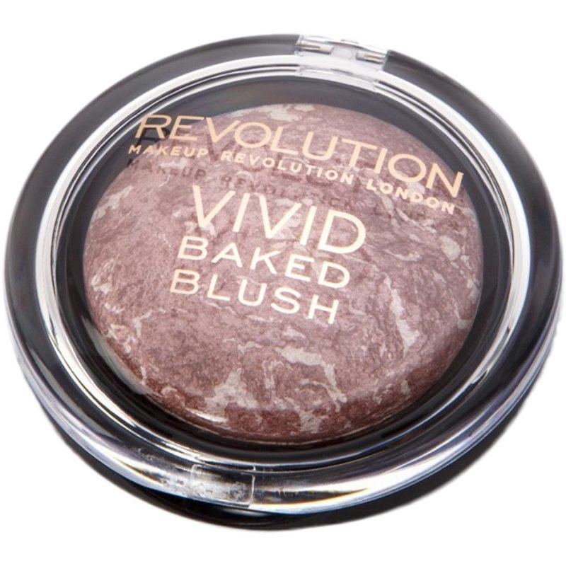 Makeup Revolution Vivid Baked Blusher Hard Day