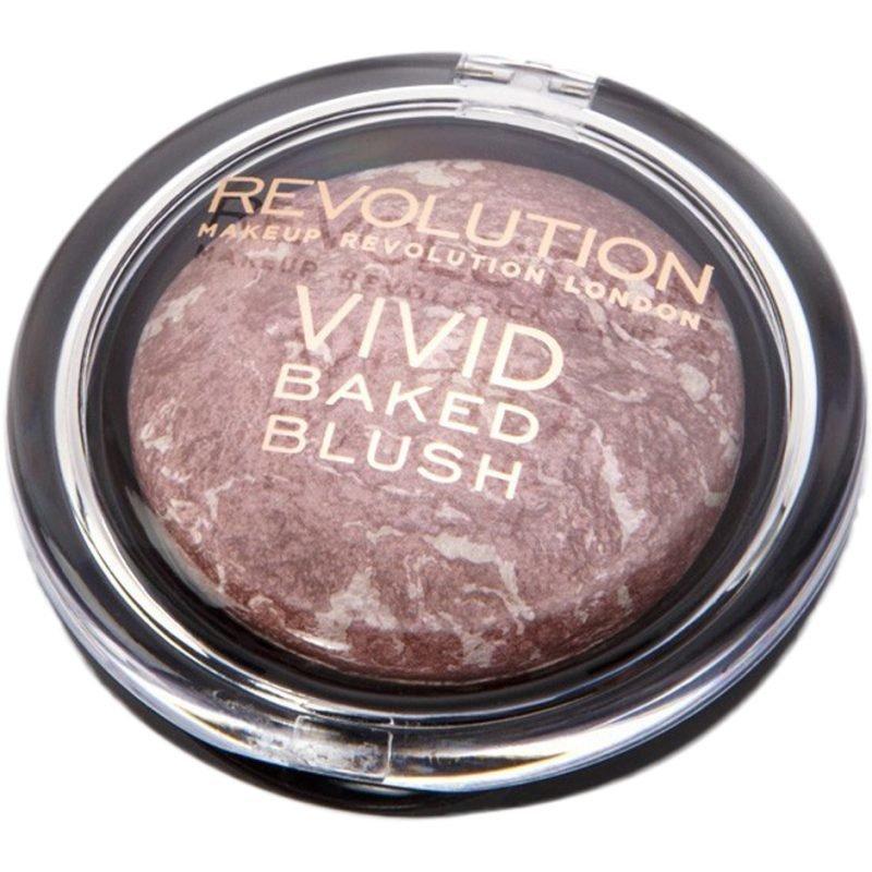 Makeup Revolution Vivid Baked Blusher Hard Day