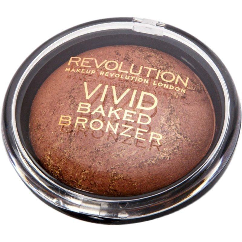 Makeup Revolution Vivid Baked Bronzer Fame