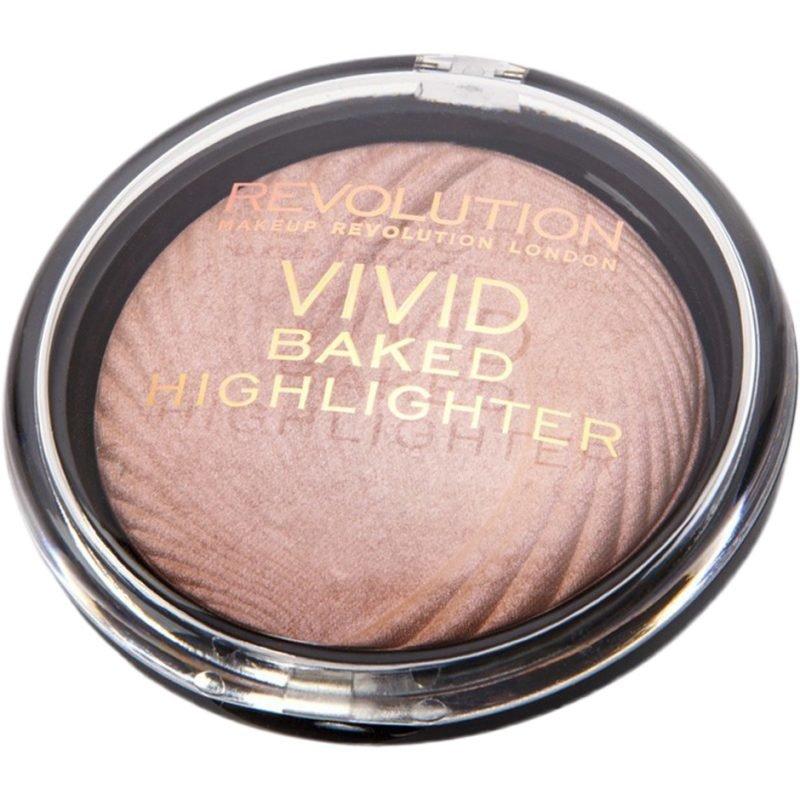 Makeup Revolution Vivid Baked Highlighter Peach Light