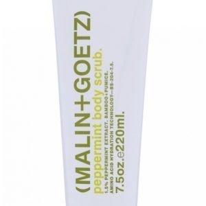 Malin + Goetz Peppermint Body Scub 220 Ml Vartalonkuorintavoide